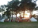 Living history camp at Morval Steam Rally